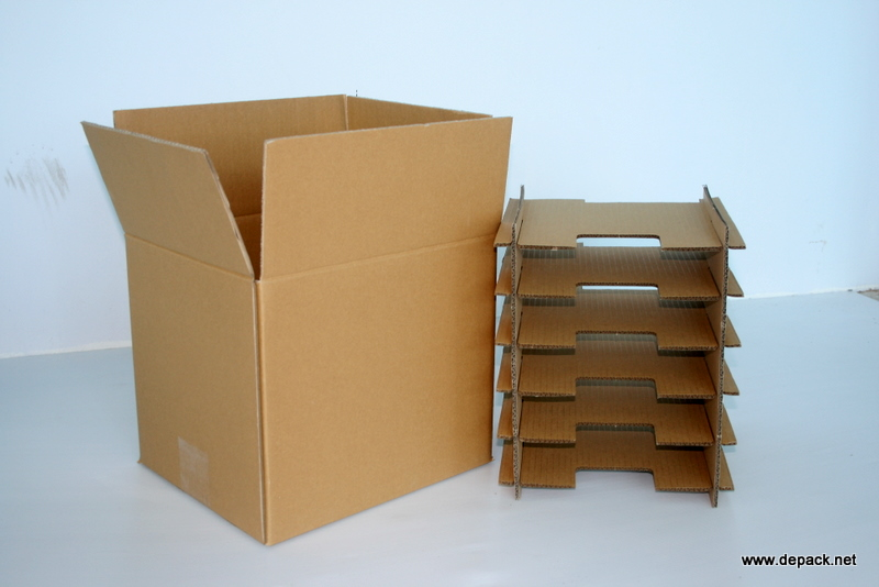 Cardboard Box with Partitions